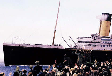 Length of the movie titanic