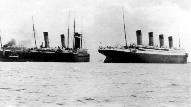 new york titanic collision