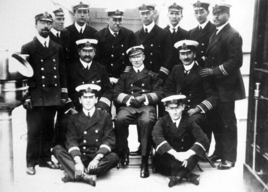 Arthur Rostron & Crew, Carpathia, Titanic