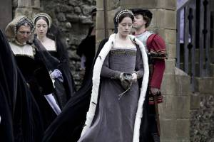 Claire Foy as Anne Boleyn in BBC's Wolf Hall (2015)