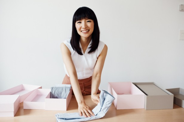 Marie Kondo photographed by Weston Wells for The Coveteur